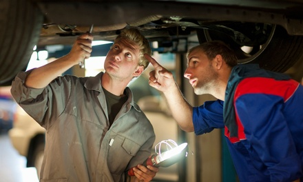 Major Car Service for One $37 or Two Cars $72 at Motor Hospital Up to $398 Value