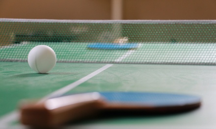 One- or Three-Day Pass at Broward Table Tennis Club (up to 50% Off)