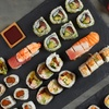 All you can eat sushi con vino