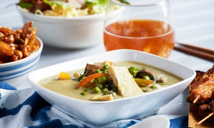 3Course Thai Meal with Wine $39, 4 $78 or 6 Ppl $117 at Thuptim Siam Thai Restaurant Up to $262.50 Value