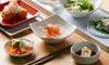 9-Dish Japanese Feast + Sake
