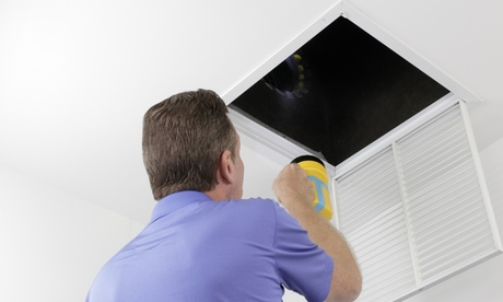 Supply Vent Cleaning, Duct Inspection, and More from Safe House Services (Up to 71% Off). Two Options Available.