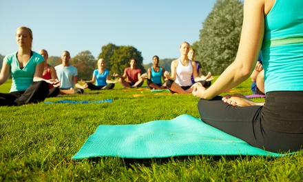 Up to 50% Off on Yoga Class at Happy Place Yoga