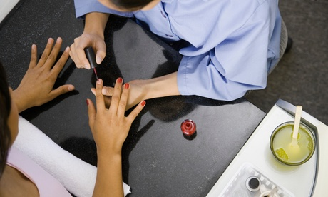 Manicure and Pedicure Services at Beauty Luxury Nails (Up to 47% Off). 17 Options Available.
