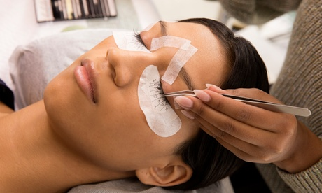 One Set of Hybrid or Classic Eyelash Extensions with Two-week fill