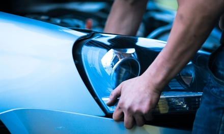 $199 for LED-Headlight Installation at Milford Auto Sound Security ($389 Value)