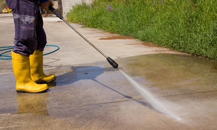 Power Wash for 1,000 Sq. Ft. or Pressure Wash for a Driveway from Oklahoma City Hood Cleaners (Up to 30% Off)