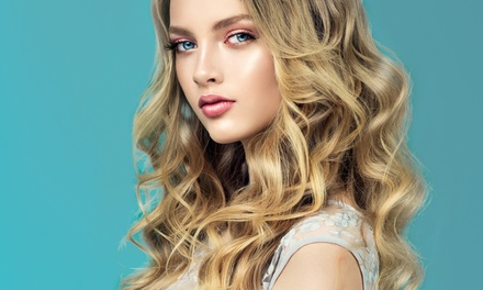 Haircut, Blowout, and More at Beauty Mark at Elite Salon Suites (Up to 64% Off). Four Options Available.