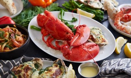 Gran menu di mare o astice con bottiglia di vino per 2 o 4 persone al ristorante Le saline (sconto fino a