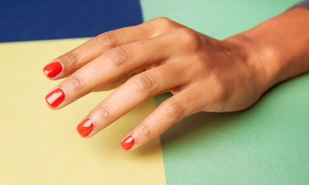 One Gel Manicure or One NexGen Dip Powder Manicure at Serene Beauty (Up to 66% Off)