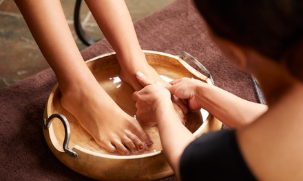 Ionic Foot Detox for One or Two at Garden Massage Spa (Up to 62% Off)