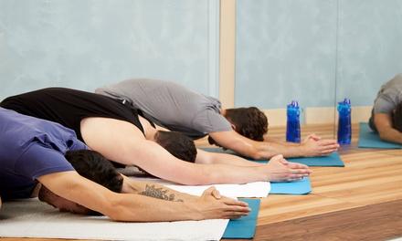 1, 3 o 6 meses de clase de yoga para 1 o 2 personas desde 14,95 € en Espacio Santosha