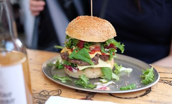 Up to 31% Off Food and Drink at All About Burger