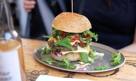 Menú americano para 2 o 4 con entrante, principal, postre y bebida en Steak y Burger (hasta 54% de descuento)