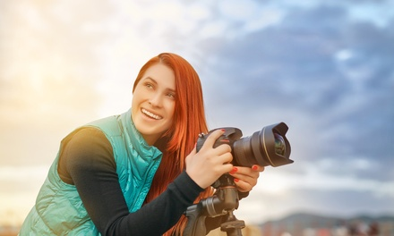 Curso online de fotografía con clases en directo y certificado con Benowu (94% de descuento)
