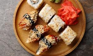 Plateau de sushis avec 2 boissons à emporter Aix-en-Provence