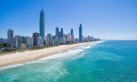 Broadbeach: 2-7-Night Apartment Stay for Two or Four People with Wine at the Broadbeach Travel Inn Apartments