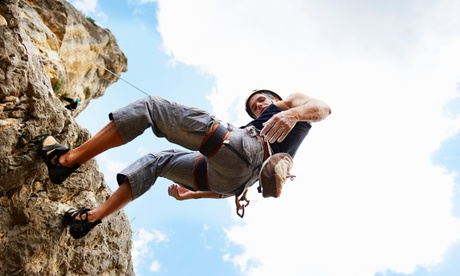 Climbing Classes at Riverview Outdoor Adventure Climbing School (Up to 30% Off). Two Options Available.