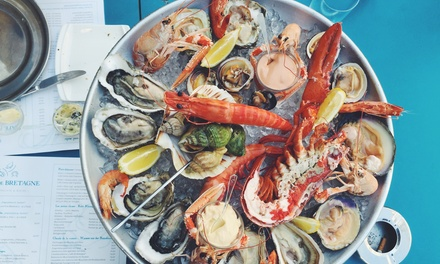 Food and Drinks at The Clam Bar (Up to 50% Off). Two Options Available