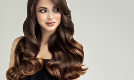 Sesión de peluquería con opción a tinte y/o mechas en Adán y Eva Hairdressing Nails (hasta 68% de descuento)
