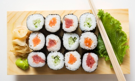 $15 for Two Specialty Sushi Rolls for Takeout at Yoshino Sushi ($27.98 Value)
