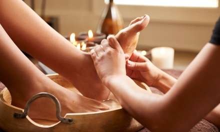 One or Three Ionic Foot Detox Baths at Bella Soul Spa (Up to 54% Off)