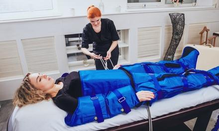 10 pressoterapie più massaggio o crema a 39,90€euro