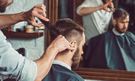 2 sesiones de peluquería para caballero con corte, lavado y peinado en El Mundo Barbers