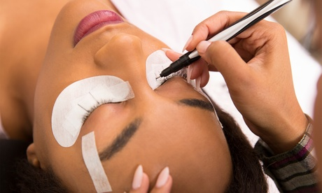 Full Set of Glamour Set Mink or Cashmere Eyelash Extensions at Cozy Lash (Up to 30% Off)