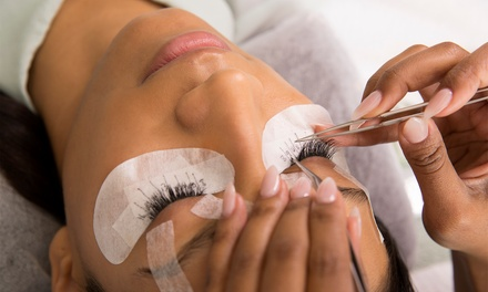 One Full Set of Eyelash Extensions with Optional Two-Week Refill (Up to 71% Off)