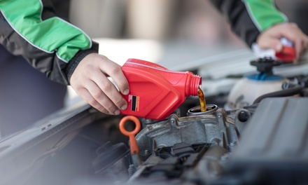 Semi-Synthetic or Synthetic Oil Change Package at Meineke Car Care Center (Up to 30% Off)