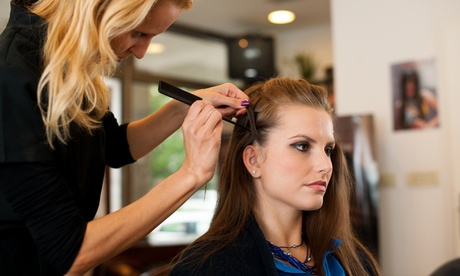 Haircut and Full Color or Haircut w/ Shampoo, Blow Dry & Style at Shear Perfection Salon & Spa (Up to 40% Off)