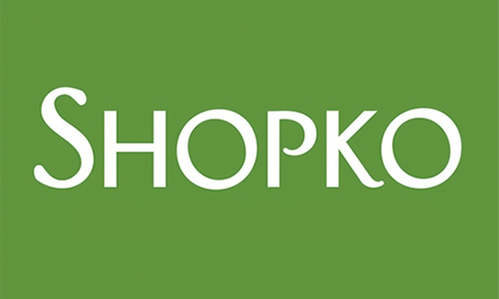 Shopko free shipping coupon code