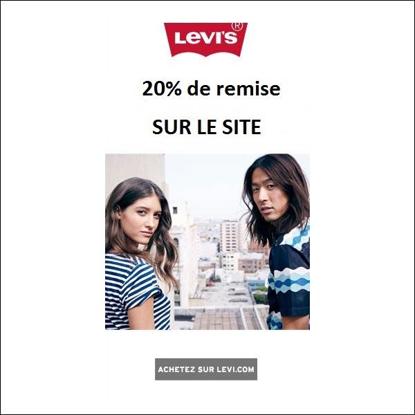 -20% sur votre commande Levis