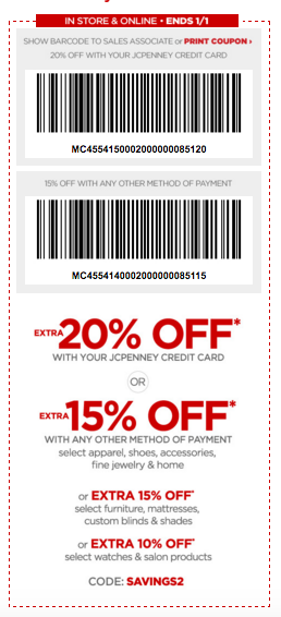 JCPenney Coupon Extra f Your Order