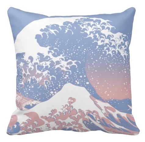 Zazzle pillow in Pantone colors
