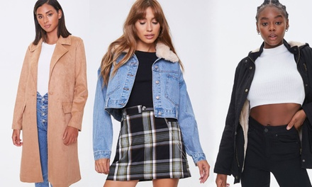 20% off Fall/Winter Jackets, Boots & Sweaters at Forever 21