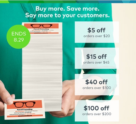 Last Day! Up To $100 Off at Vistaprint