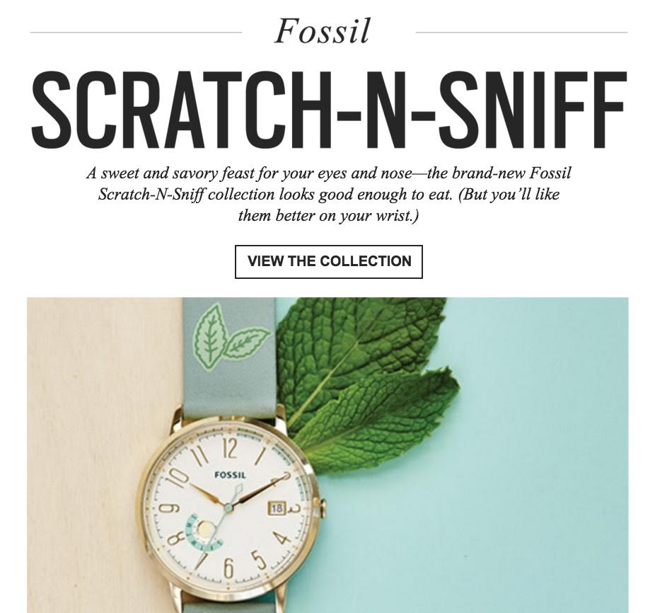 Fossil April Fools Day
