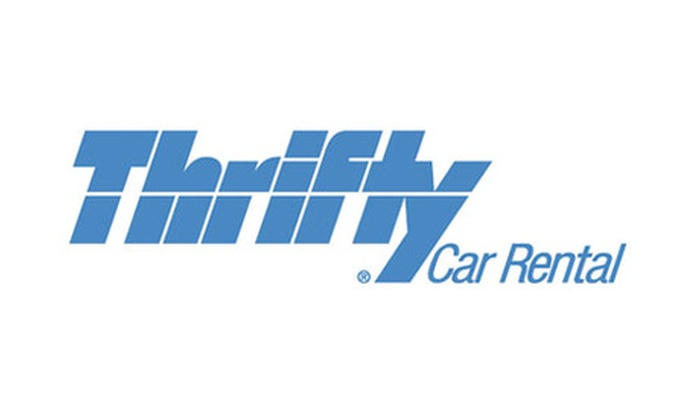 Thrifty Rent-A-Car Promo Code: 10% Off Your Next Weekly Rental Of All Car Classes - Online Only