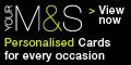 Marks and Spencer Personalised Cards coupons
