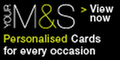 marksandspencerpersonalised.com with Marks and Spencer Personalised Cards Discount Codes & Promo Codes