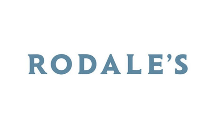 Rodale's Sale: 10% Off Next Order With Email Sign Up At Rodale's - Online Only