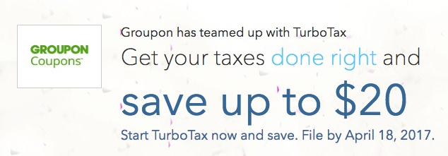Up To $20 Off TurboTax—Limited Time!