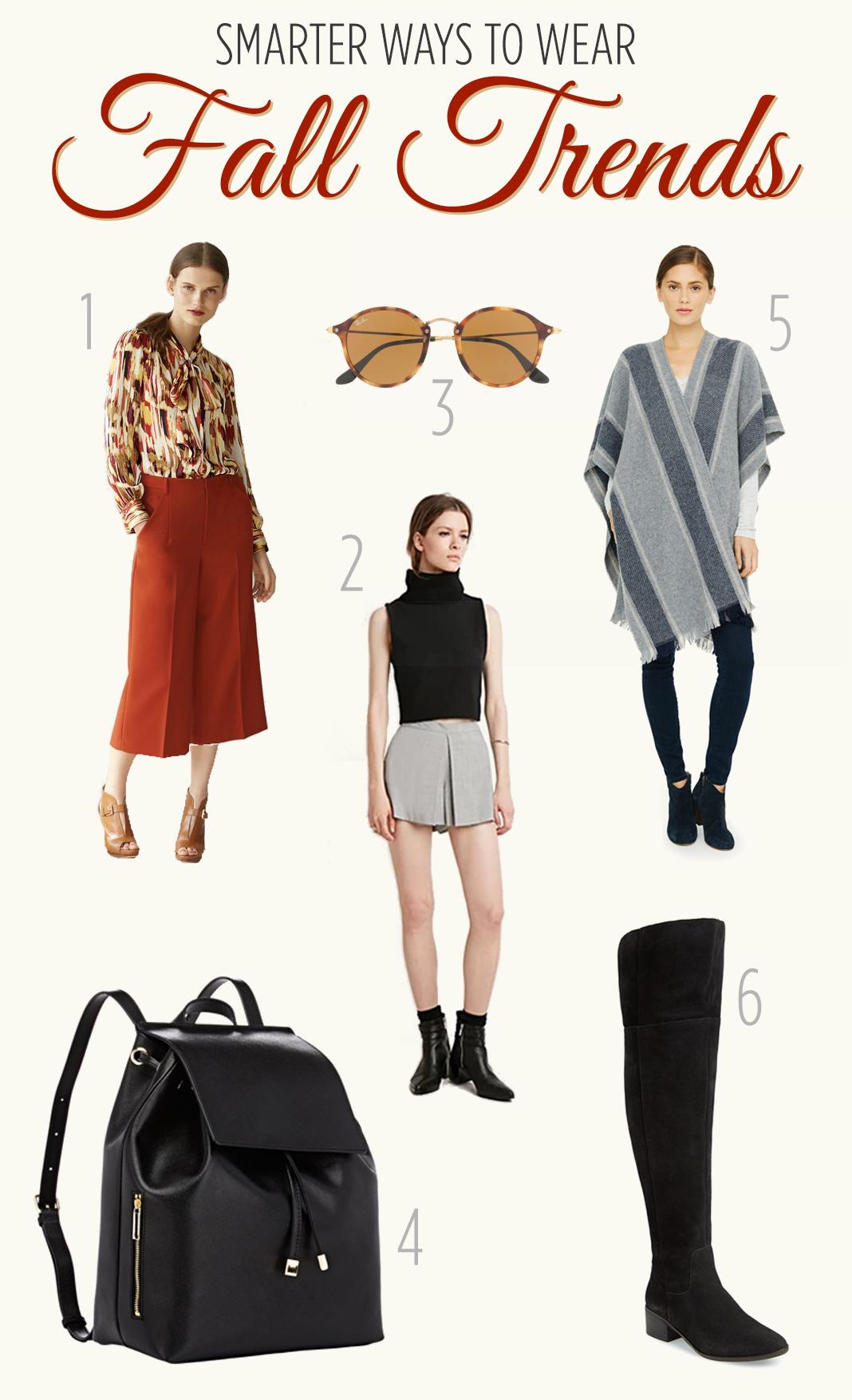 Smarter ways to wear fall trends