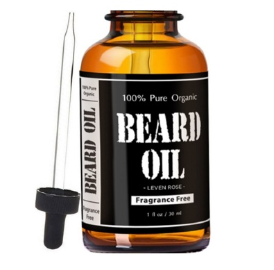 leven rose beard oil  valentine's day gift