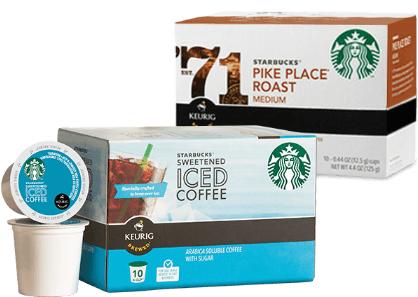Starbucks K-Cup cash back deal