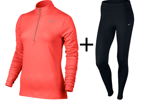 What to wear running outside in the winter