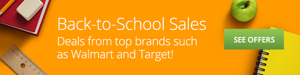 Back-To-School Sales