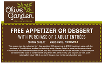 Olive Garden Coupons Coupon Codes 2015 Groupon